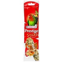 Versele-Laga палочка для средних попугаев prestige с орехами и медом