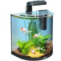 """Tetra aquaart goldfish - аквариумный комплекс """"полумесяц"""""""