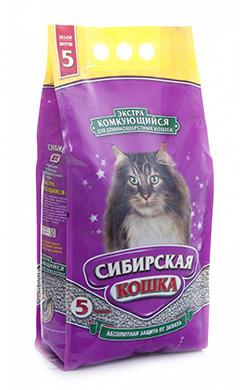 Сибирская кошка Наполнитель Экстра Комкующийся