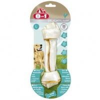 8in1 dental delights l косточка с куриным мясом для крупных собак с минералами