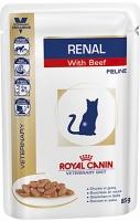 Royal Canin Renal (Паучи для кошек при хронической почечной недостаточности с говядиной)