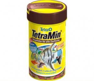 Tetra min корм для всех видов рыб в виде хлопьев