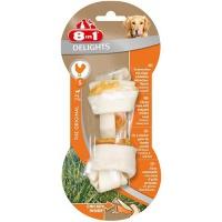 8in1 delights s косточка с куриным мясом для мелких и средних собак