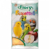 Fiory бисквиты для птиц biscottelli с яблоком