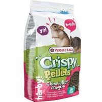 Versele-Laga корм для шиншилл и дегу crispy pellets chinchillas & degus гранулированный
