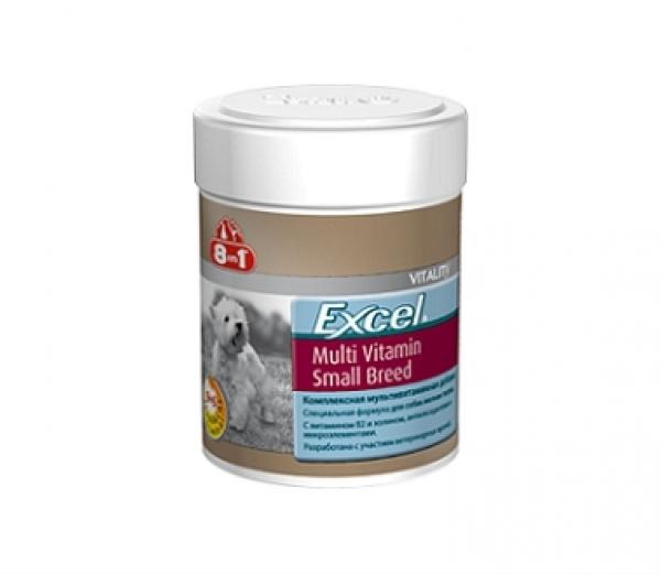 8in1 excel  мультивитамины для собак мелких пород
