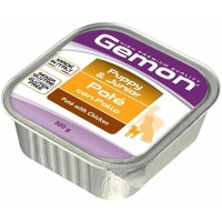 Gemon dog консервы для щенков паштет курица