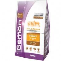 Gemon dog light низкокаллорийный корм для взрослых собак всех пород