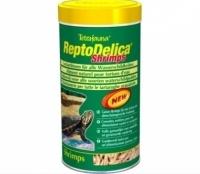 Tetra reptomin delica shrimps корм с креветками для водных черепах