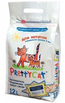 PrettyCat Wood Granules Kitten (Древесный наполнитель для кошачьих туалетов. Для котят)