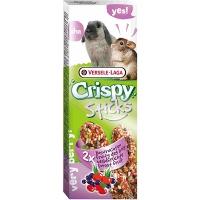 Versele-Laga палочки для кроликов и шиншилл crispy с лесными ягодами