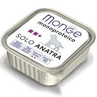 Monge Dog Monoproteico Solo консервы для собак паштет из утки
