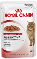 Royal Canin Instinctive (Мясные кусочки в желе для кошек старше 1 года)