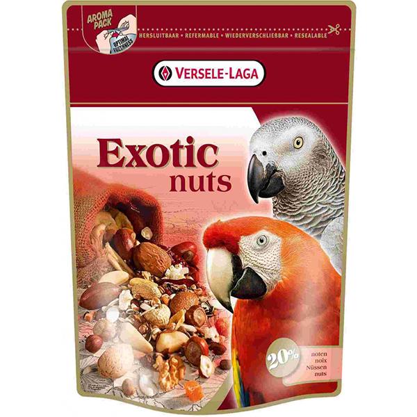 Versele-Laga корм для крупных попугаев с орехами exotic nuts