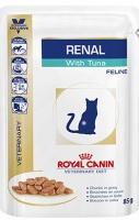 Royal Canin Renal (Паучи для кошек при хронической почечной недостаточности с тунцом)