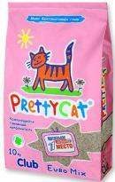 PrettyCat Euro Mix (Комкующийся наполнитель для кошачьих туалетов)