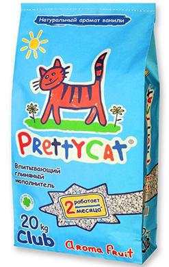 PrettyCat Aroma Fruit (Наполнитель глиняный впитывающий)