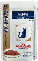 Royal Canin Renal (Паучи для кошек при хронической почечной недостаточности с курицей)