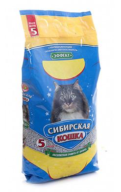Сибирская кошка Наполнитель Эффект Впитывающий