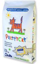 PrettyCat Wood Granules (Древесный наполнитель для кошачьих туалетов)