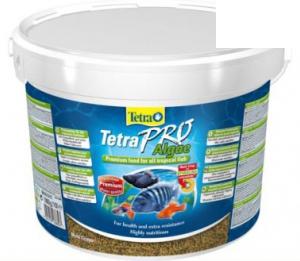 Tetra pro algae crisps раст.корм для всех видов рыб в чипсах (ведро)