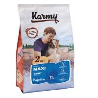 Karmy Maxi (Карми Макси Эдалт для взрослых собак крупных пород, с индейкой).