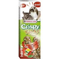 Versele-Laga палочки для кроликов и шиншилл crispy с травами