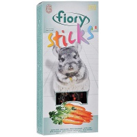 Fiory палочки для шиншилл sticks с морковью