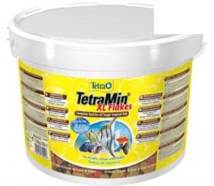 Tetra min xl корм для всех видов рыб крупные хлопья (ведро)