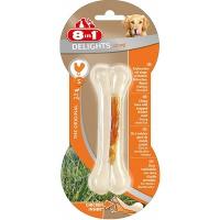 8in1 delights strong s косточка сверхпрочная с куриным мясом для мелких и средних собак