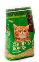Сибирская кошка Наполнитель для котят Лесной бентонитовый