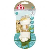8in1 dental delights s косточка с куриным мясом для мелких и средних собак с минералами