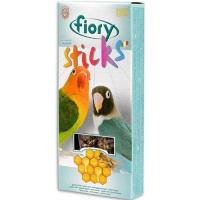 Fiory палочки для средних попугаев sticks с медом