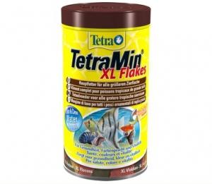 Tetra min xl корм для всех видов рыб крупные хлопья