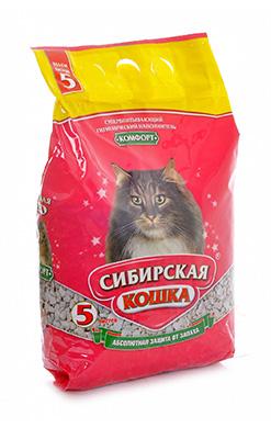 Сибирская кошка Наполнитель Комфорт Впитывающий