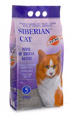 Сибирская кошка Наполнитель Прима Комкующийся