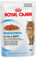 Royal Canin Ultra Light (Мясные кусочки в желе для кошек, склонных к полноте)
