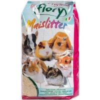 Fiory наполнитель кукурузный для грызунов maislitter profumato дикие ягоды
