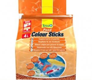 Tetra pond color sticks корм для прудовых рыб палочки для окраски