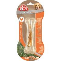 8in1 delights strong m косточка сверхпрочная с куриным мясом для средних и крупных собак
