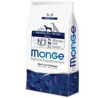 Monge dog medium корм для взрослых собак средних пород
