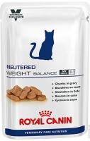 Royal Canin Neutered Weight Balance (Паучи для кастрированных кошек / котов, склонных к избыточному весу)