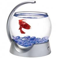 Tetra betta bowl аквариум-шар для петушков с освещением