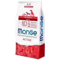 Monge dog speciality active корм для активных собак с курицей