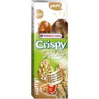 Versele-Laga палочки для крыс и мышей crispy с попкорном и орехами