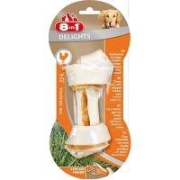 8in1 delights m косточка с куриным мясом для средних и крупных собак